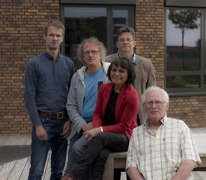vlnr: Edwin Kuik, Pier Schipper, Juul Mustamu, Henk Oostland, Peter Nicolaas